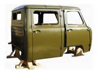 Кузов (ФЕРМЕР 39094) инжектор , щиток н/о , дв.ЗМЗ-40911 защитный