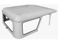 Крыша металлическая Хантер в сб темно серый металлик++