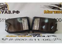 Фонарь задний ЛАДА НИВА (ВАЗ 2121, 21213, 21214, 2131) дымчатый диодный комплект R+L