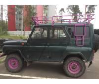 """Багажник на УАЗ Хантер """"Браконьер"""" (8 опор)"""