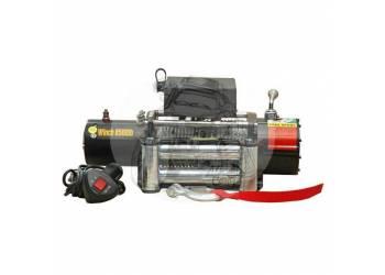 Лебедка электрическая GRIZZLY 12V Electric Winch 8500lbs / 3856 кг со стальным тросом