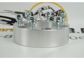 Проставка ступичная УАЗ Профи 6X139,7mm (6-5.5) алюминий (1шт) (толщина: 35мм; резьба на шпильках: 12x1.5) 6X139,7